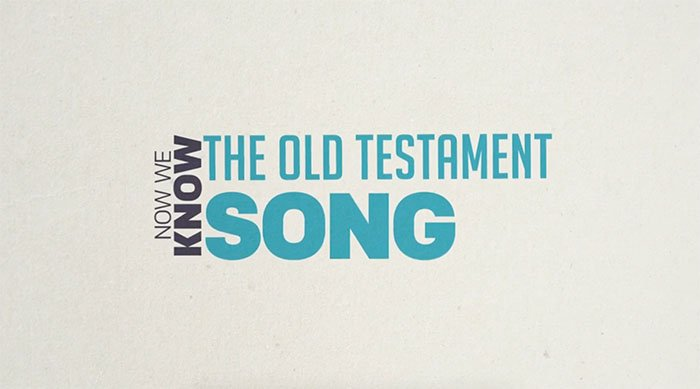 Now We Know the Old Testament Song (Answers Bible Curriculum)