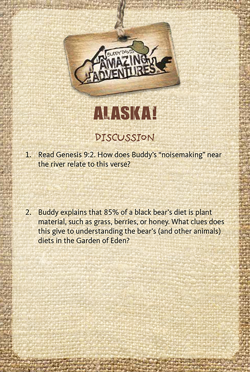 Amazing Adventures: Alaska Study Guide