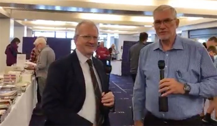 Dr. Andy McIntosh Interview at the UK Mega Conference