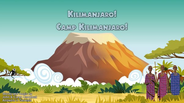 Camp Kilimanjaro (Lyrics Only)