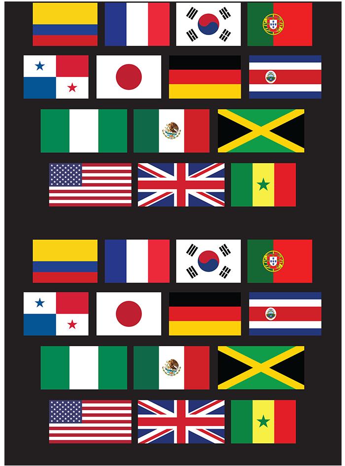 Table Top Fútbol Patterns