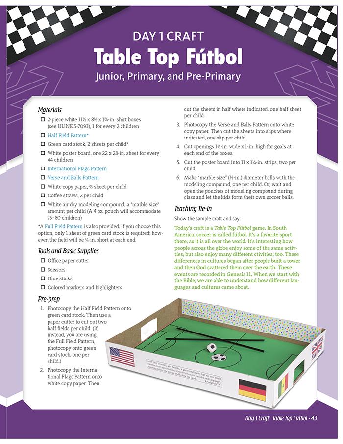 Table Top Fútbol