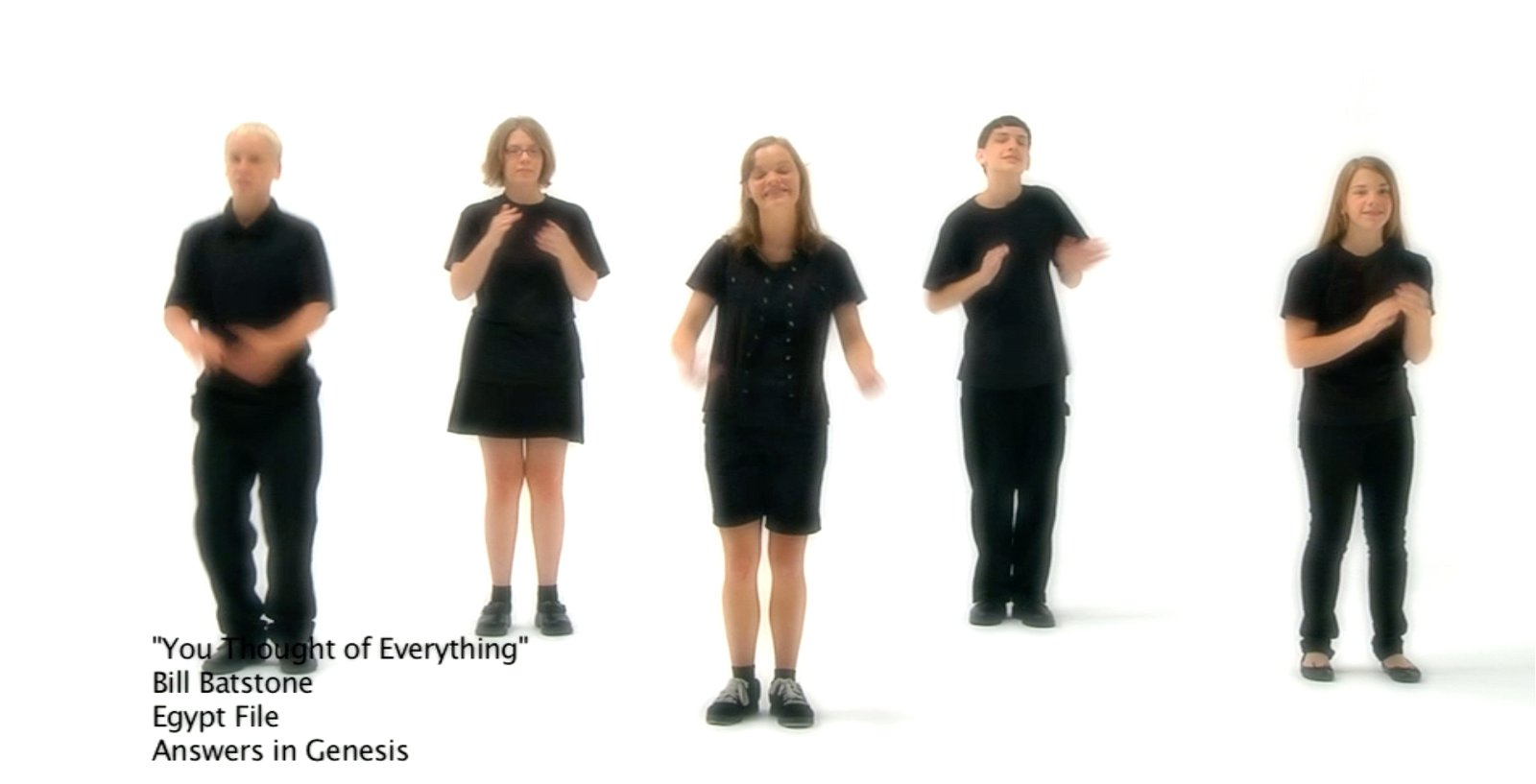 You Thought of Everything (Lyrics Video)
