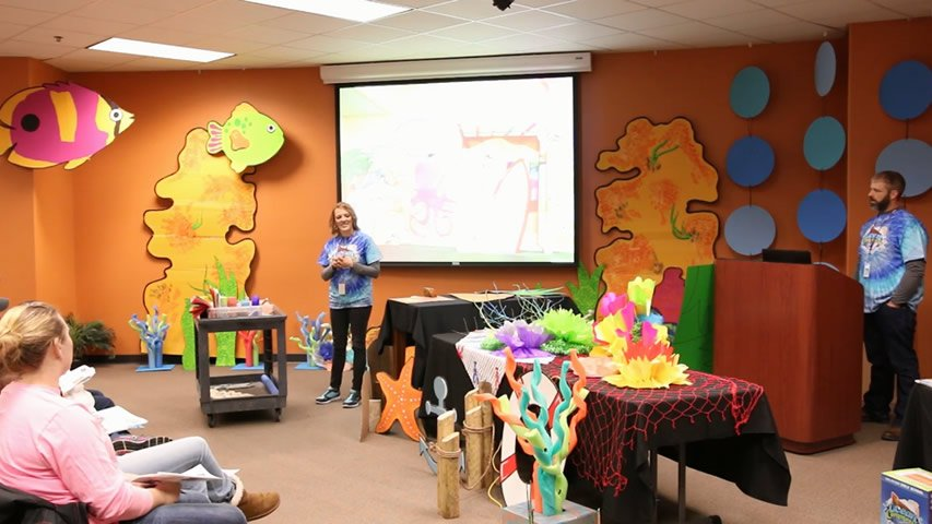 Answers VBS: Pool Noodle Coral Decor