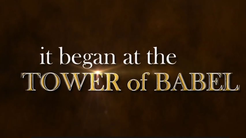 Tower of Babel Book Trailer