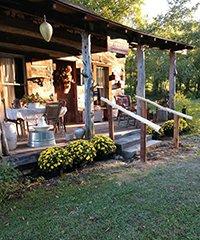 Mullins Log Cabin