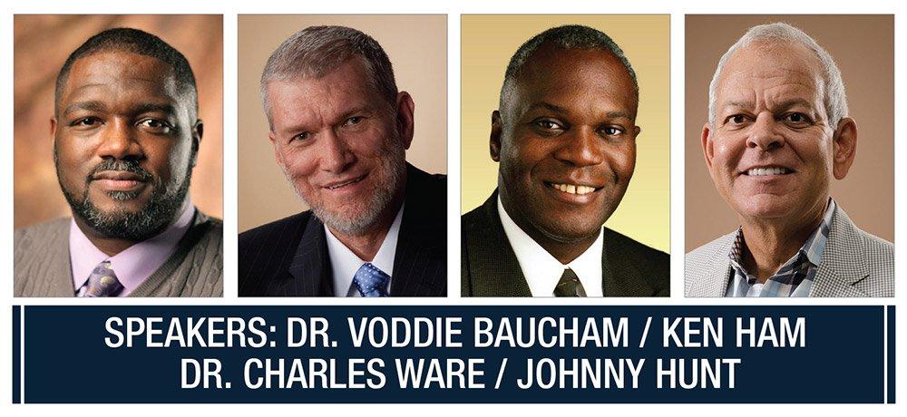 Dr. Voddie Baucham, Ken Ham, Dr. Charles Ware, Johnny Hunt