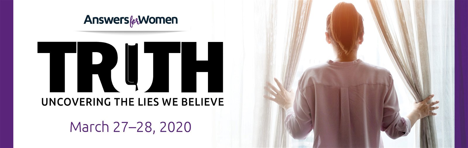 Enter to win a FREE registration to the 2020 Answers For Women conference!