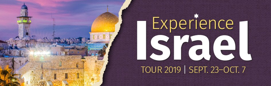 Trip to Israel: Hosted by Answers in Genesis and Tribe of Dan Tours (Full)