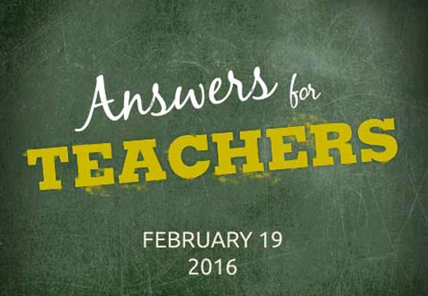 Answers for Teachers