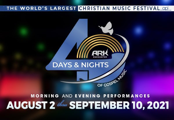40 Days and 40 Nights of Gospel Music