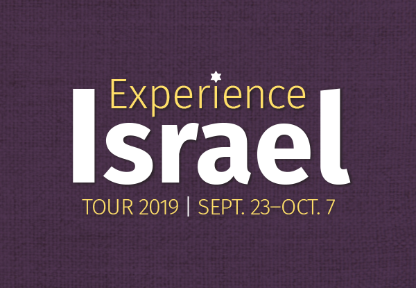 Trip to Israel: Hosted by Answers in Genesis and Tribe of Dan Tours
