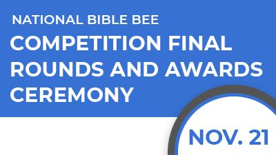 National Bible Bee Competition - Finals, Awards, and Celebration