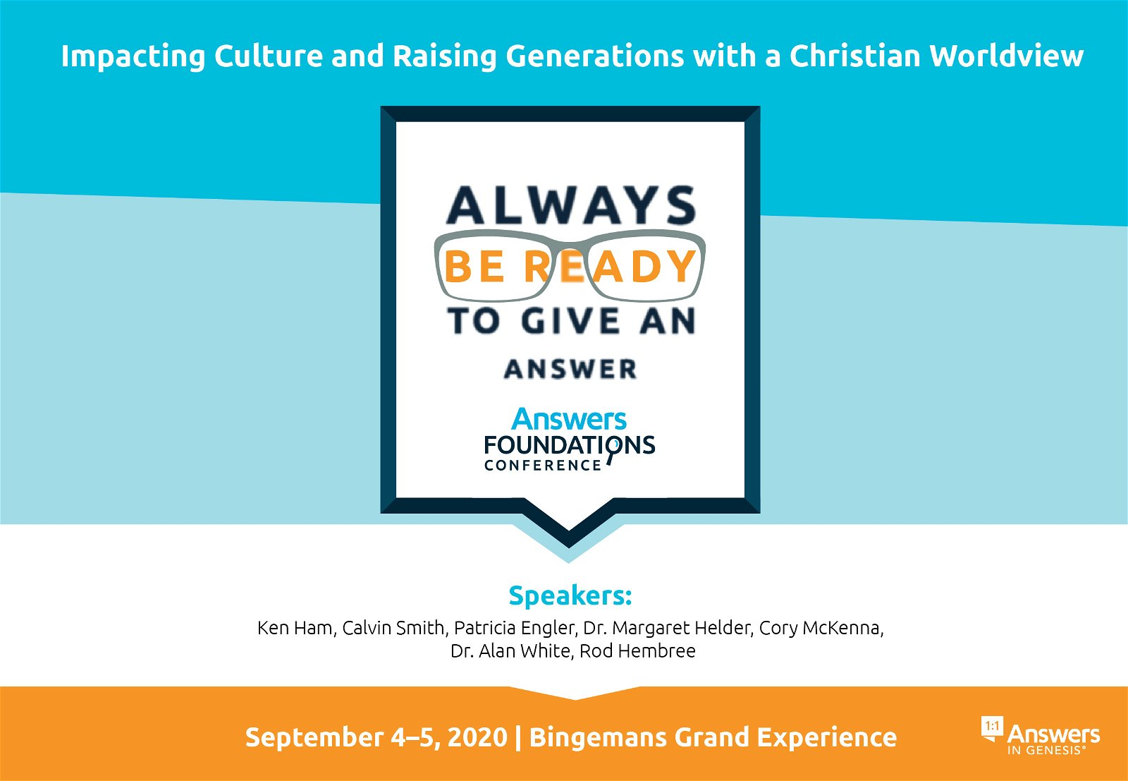 Answers Foundations 2020 Conference
