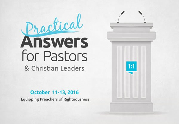 Practical Answers for Pastors & Christian Leaders