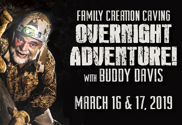 Creation Caving Adventure with Buddy Davis