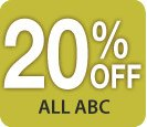 20% off all ABC