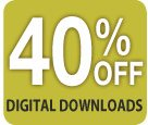 40% off Digital Downloads