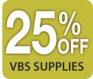 25% off all VBS