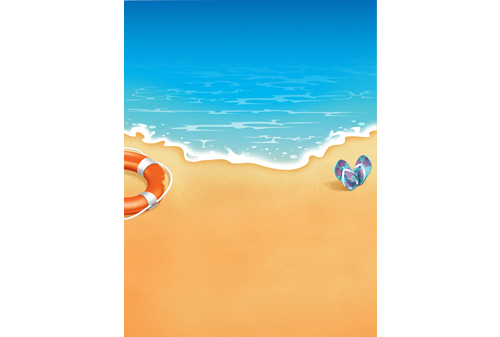Promotional Artwork: Beach