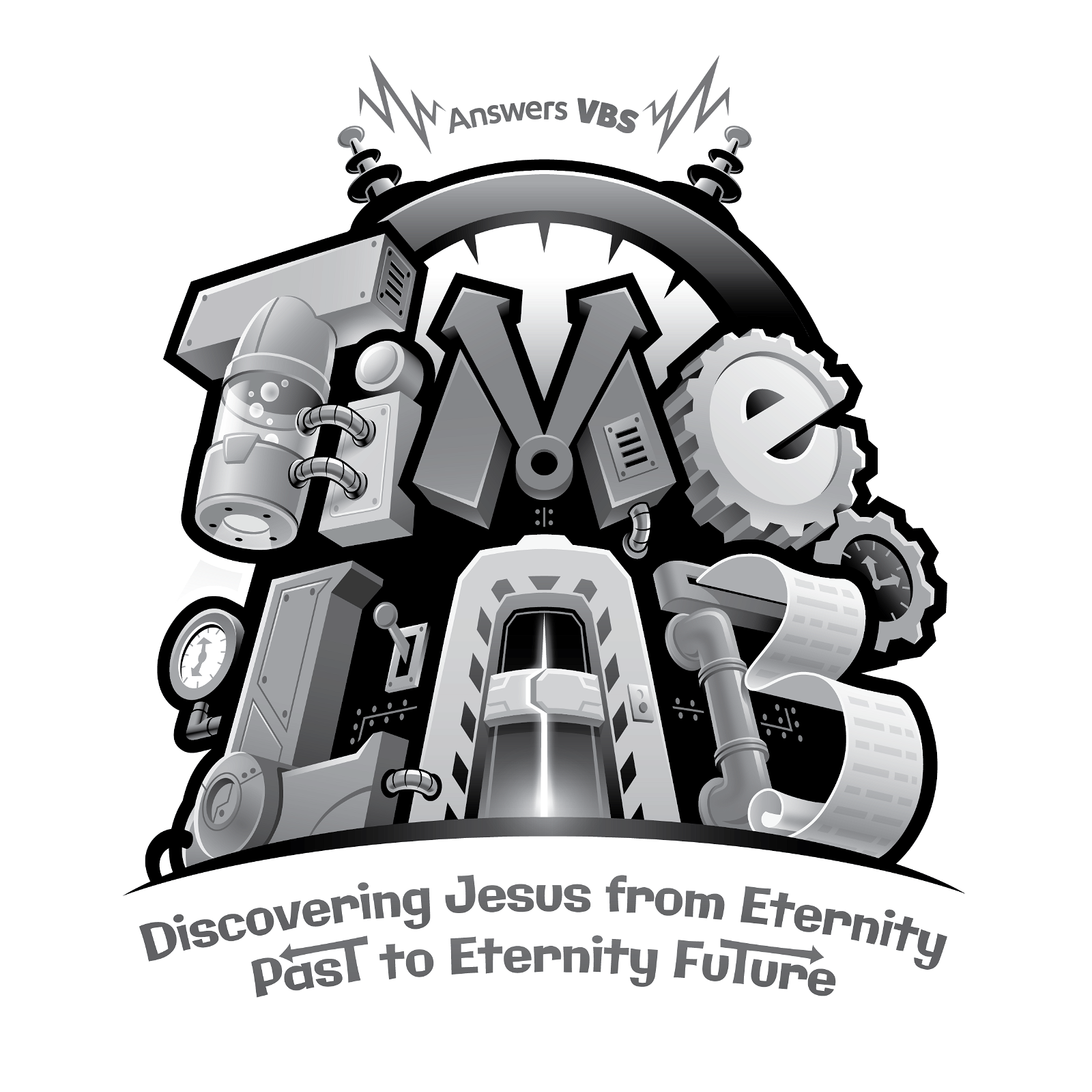 Grayscale Time Lab Logo
