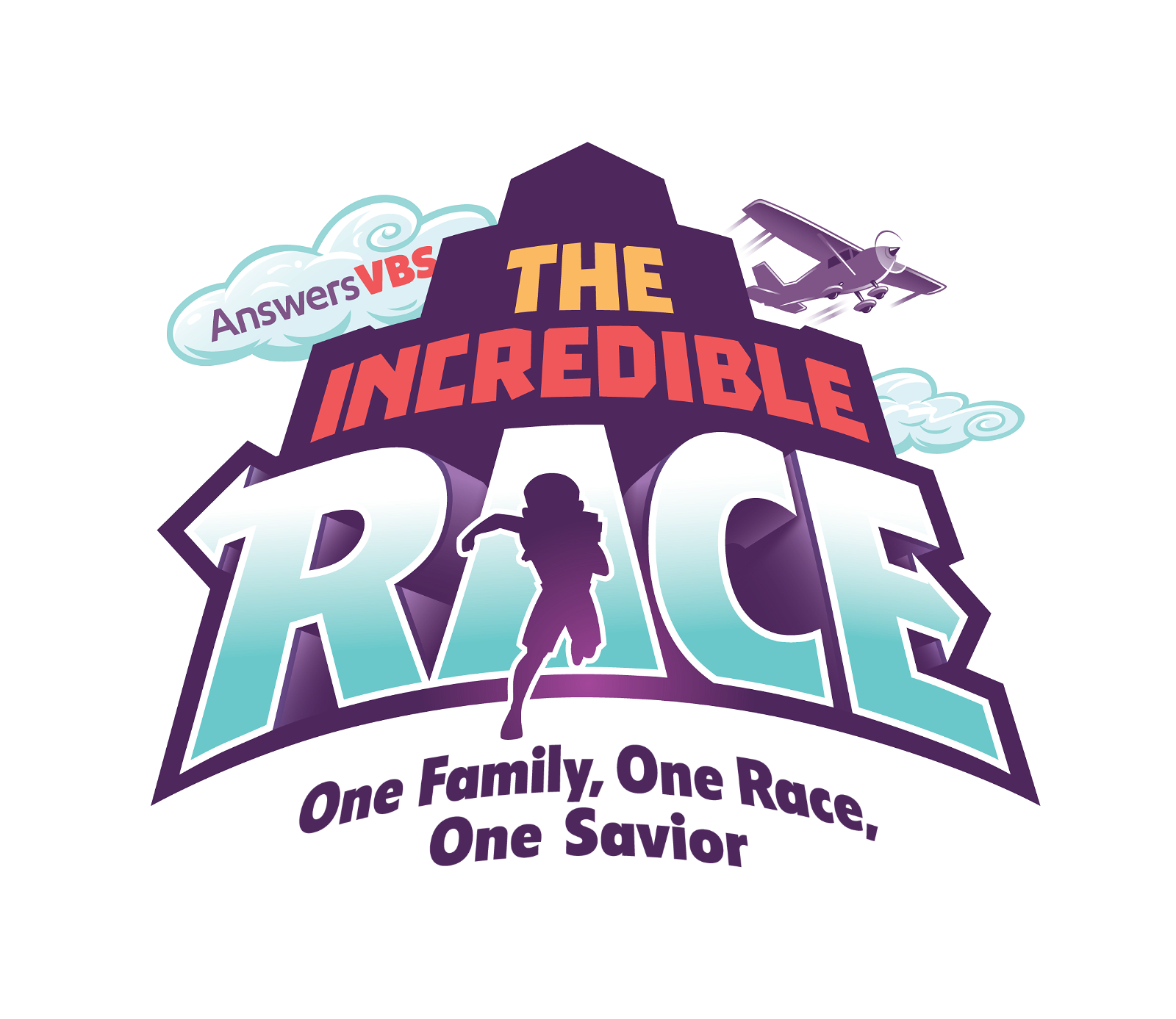 Simple The Incredible Race Logo