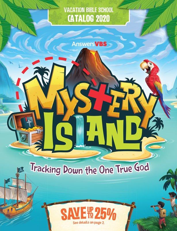 Mystery Island VBS Catalog