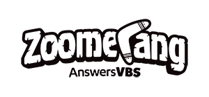 Small Zoomerang Logo Black and White