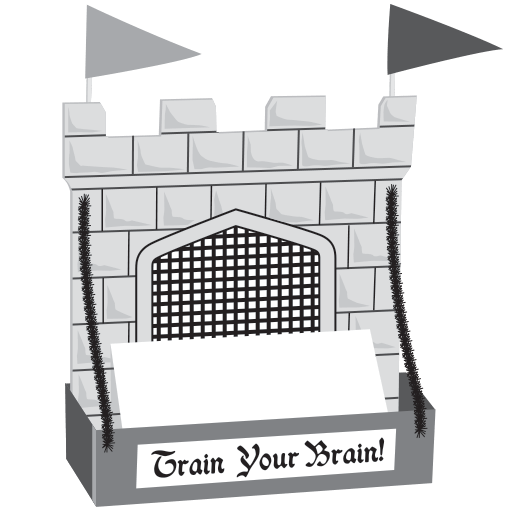 Train Your Brain Card Caddy