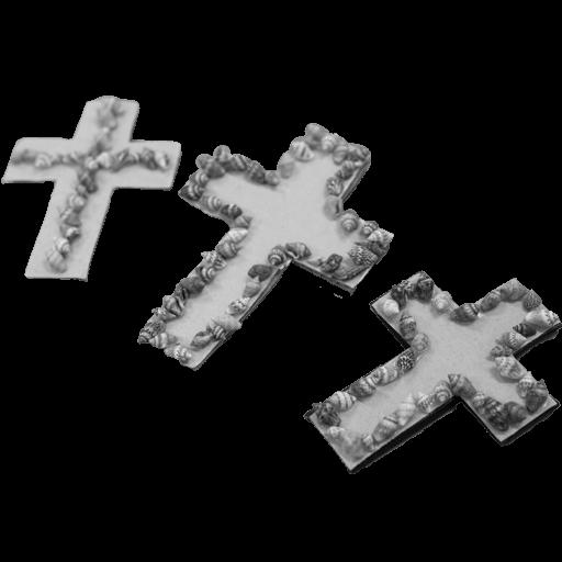 Seashell Cross