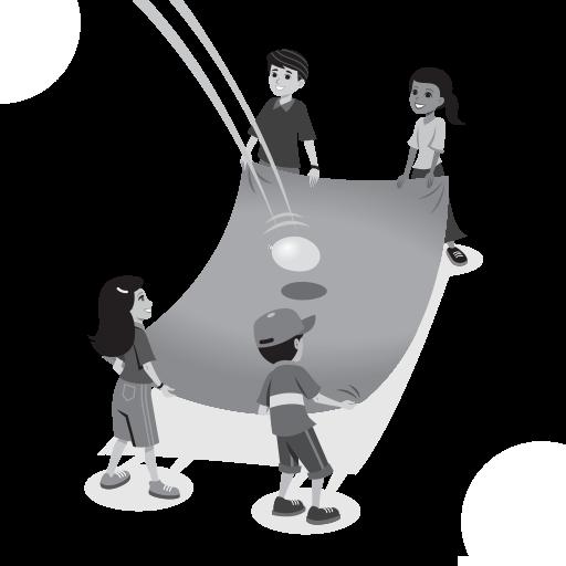 Water Balloon Volleyball