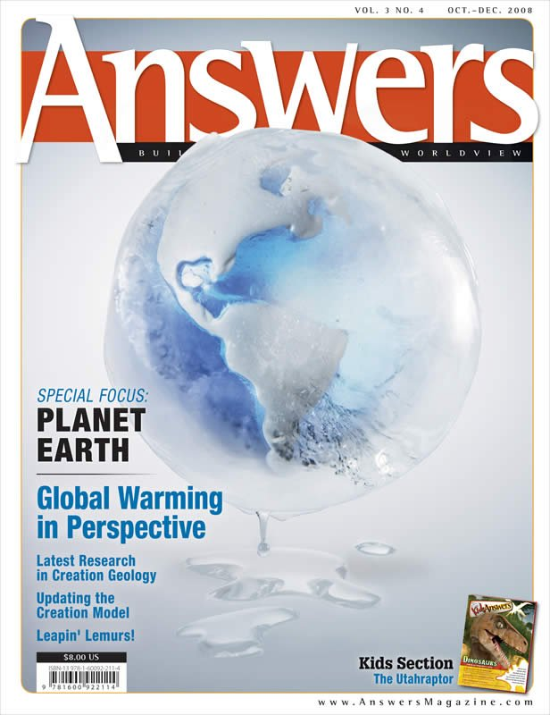Answers Magazine Single Issue Vol 3 No 4 Answers In