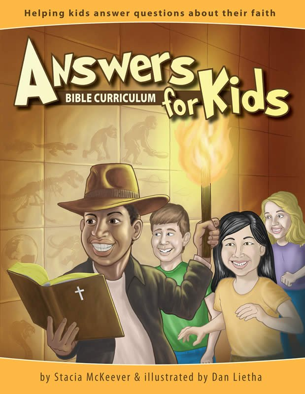 Answers For Kids Bible Curriculum Answers In Genesis