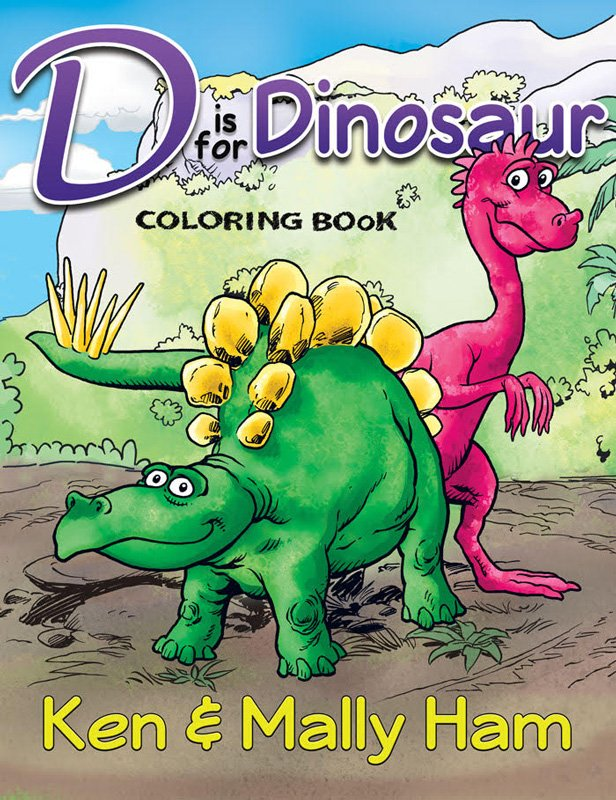 d is for dinosaur coloring book answers in genesis. Black Bedroom Furniture Sets. Home Design Ideas
