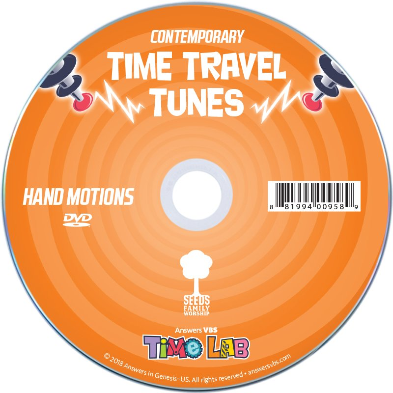 Time Lab VBS: Hand Motions DVD