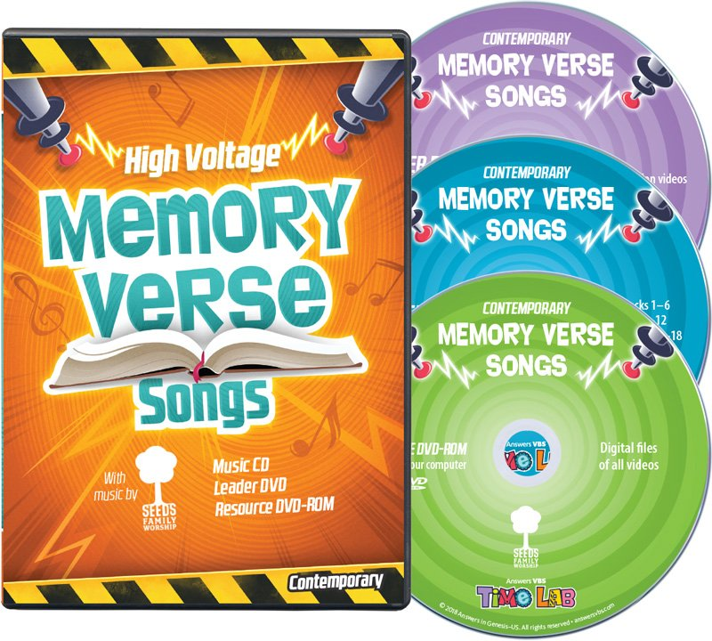Time Lab VBS: Seeds Family Worship Memory Verse Music Leader Set