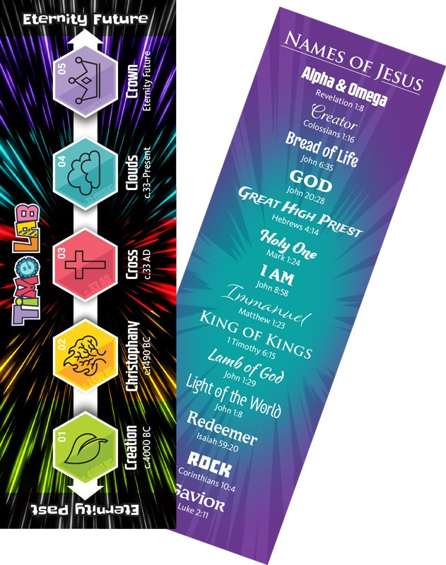 time lab vbs names of jesus bookmark answers in genesis
