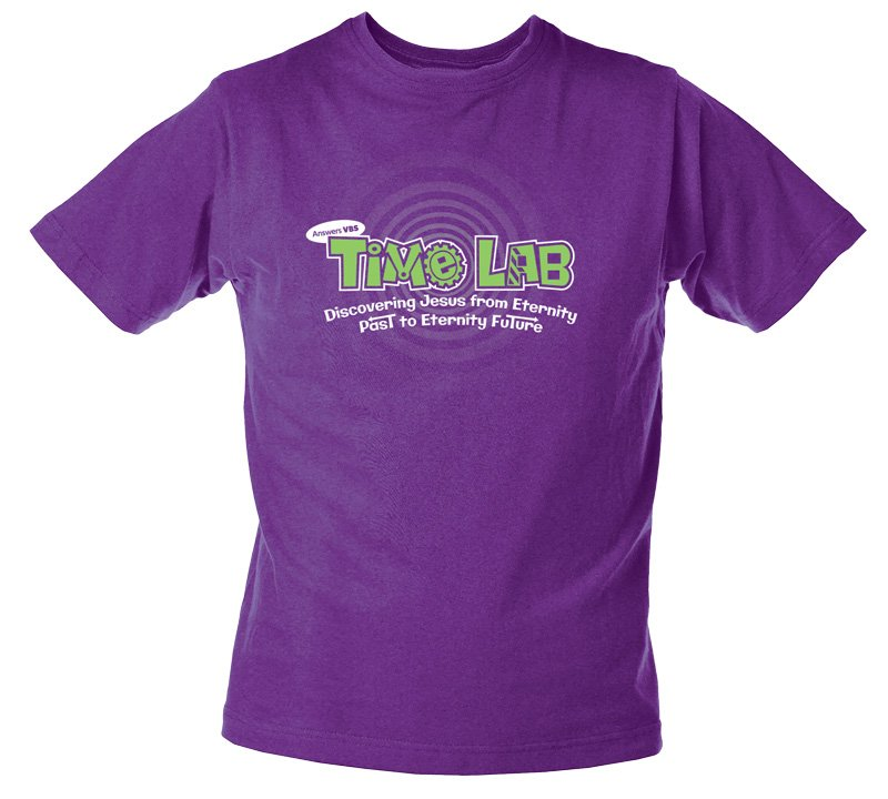 Time Lab Vbs Leader T Shirt Answers In Genesis