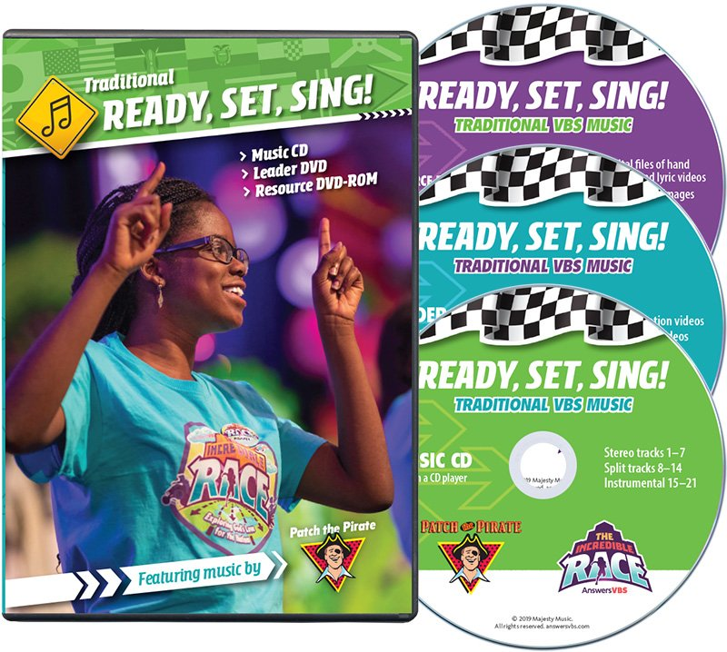 The Incredible Race VBS: Music Leader Set