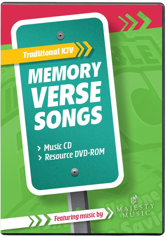 The Incredible Race VBS: Traditional Memory Verse Music Leader Set