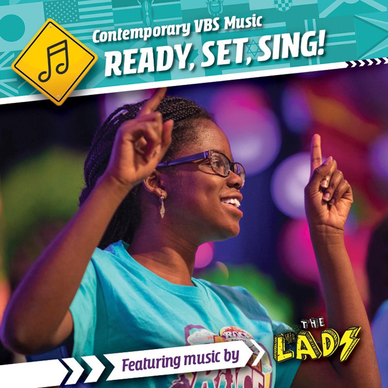 The Incredible Race VBS: Contemporary MP3