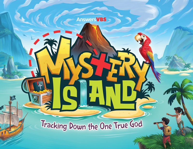 Image result for mystery island vbs