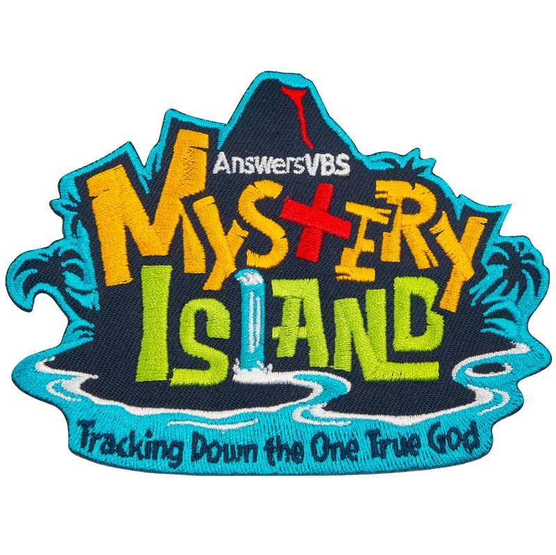 Logo For Science: Mystery Island VBS: Iron-On Patch (Supplies)