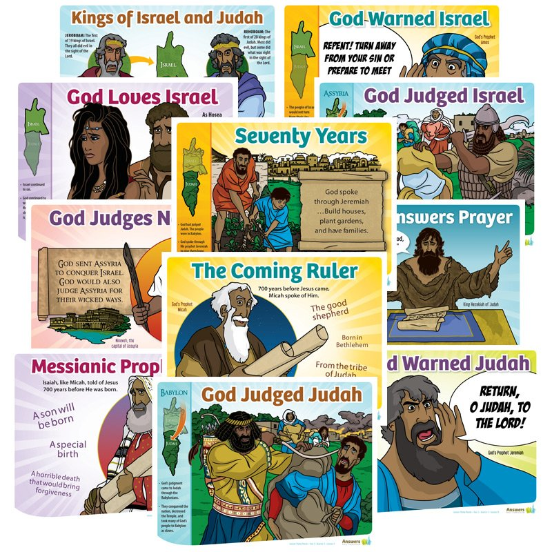 Abc Sunday School Lesson Theme Posters Grades 1 6 Answers In