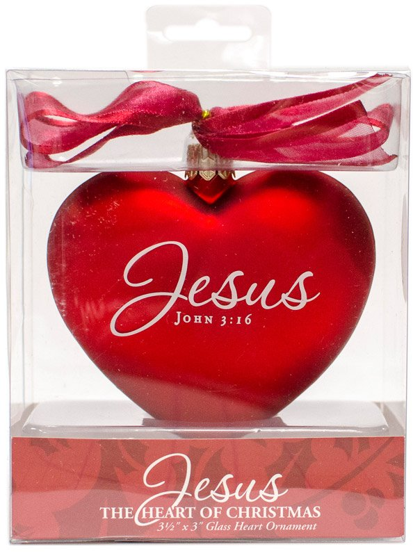 Heart christmas ornament answers in genesis