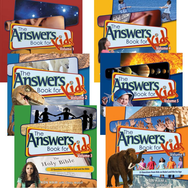 The Answers Book For Kids Complete Set Answers In Genesis