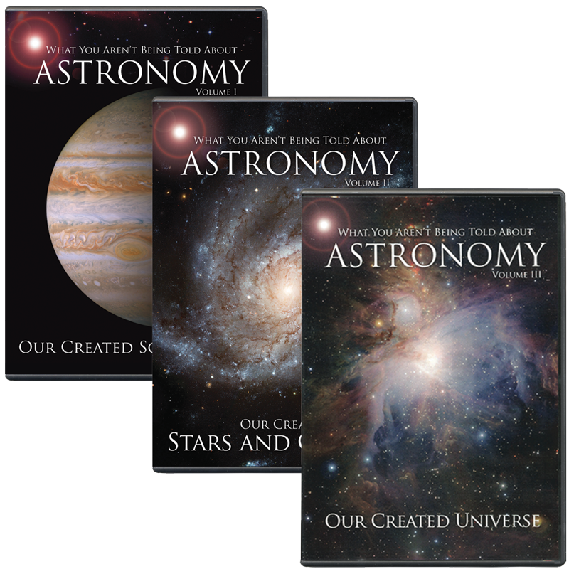 Astronomy 3 DVD Combo | Answers in Genesis
