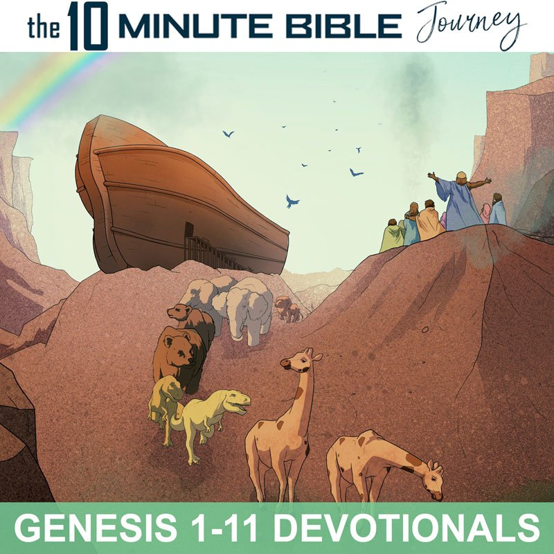 The 10-Minute Bible Journey Genesis 1–11 Devotional