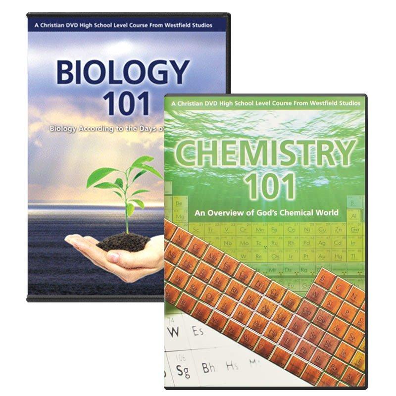 chemistry  u0026 biology 101 combo