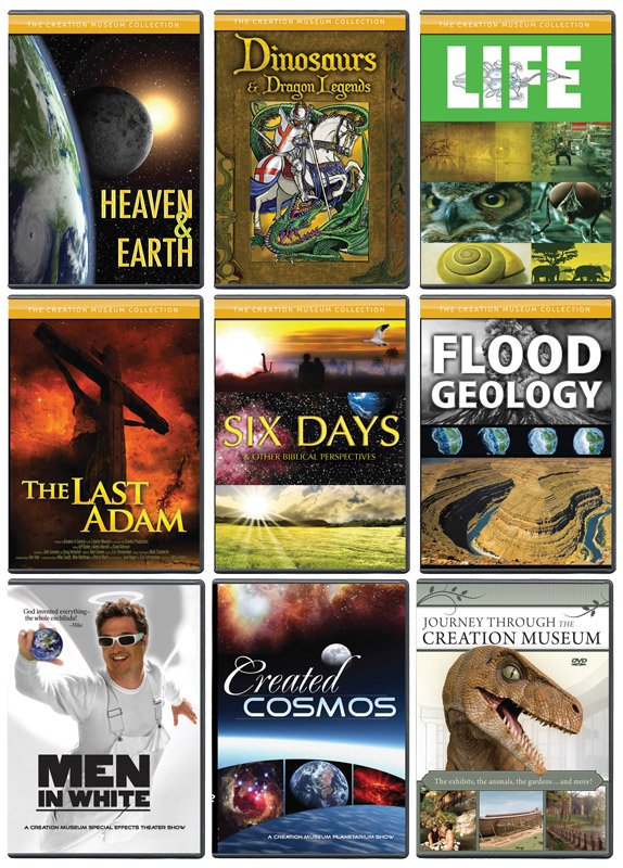 Complete Creation Museum Dvd Collection Answers In Genesis